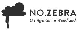 Logo - no.zebra - Die Agentur im Wendland